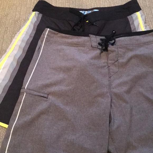 Bundle of two mens swim trunks (36)